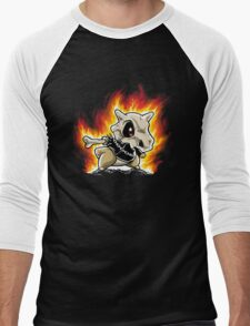 Cubone on fire Men's Baseball ¾ T-Shirt