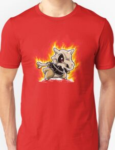 Cubone on fire Unisex T-Shirt