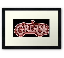 °MOVIES° Grease Denim Framed Print