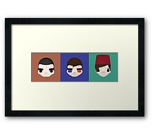 The Doctors Framed Print