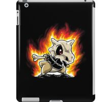 Cubone on fire iPad Case/Skin