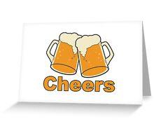 Cheers Beer Greeting Card
