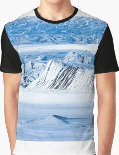 Glacier Close up Graphic T-Shirt