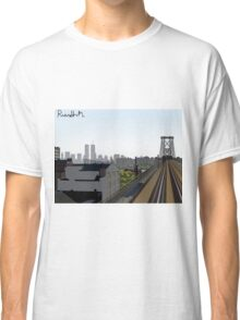 The Ride into Town Classic T-Shirt