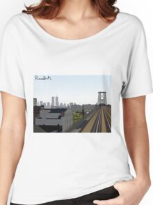 The Ride into Town Women's Relaxed Fit T-Shirt
