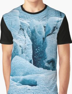 Ice Textures Graphic T-Shirt