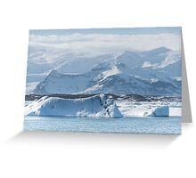 Cold Hazy Day Greeting Card