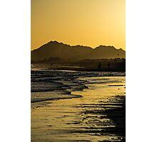 Golden Beach Photographic Print