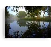 Morning over the Lagoon Canvas Print