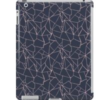 Web Blue and Pink iPad Case/Skin
