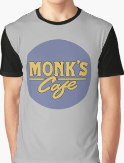 """Monk's Cafe - as seen on """"Seinfeld"""" Graphic T-Shirt"""
