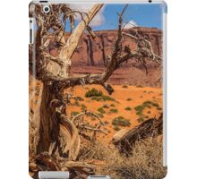 USA. Utah. Monument Valley. Dead Tree. iPad Case/Skin