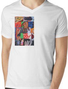 Funny Hands Mens V-Neck T-Shirt