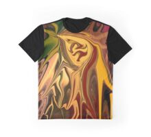 Dragon Heart Abstract Graphic T-Shirt