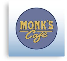 "Monk's Cafe - as seen on ""Seinfeld"" Canvas Print"