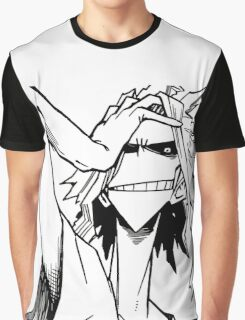 All Might-Boku no Hero Academia Graphic T-Shirt