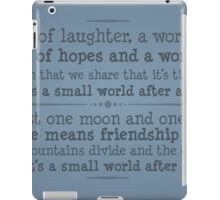 A World of Laughter iPad Case/Skin
