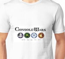 Gaming Console Wars. Unisex T-Shirt