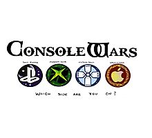 Gaming Console Wars. Photographic Print