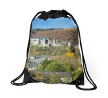 Colorful Village - Travel Photography Drawstring Bag