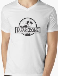 Tyrantrum Safari Zone Mens V-Neck T-Shirt