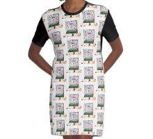 What a Hoot! Graphic T-Shirt Dress
