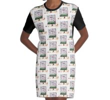 What a Hoot! Graphic T-Shirt Dress