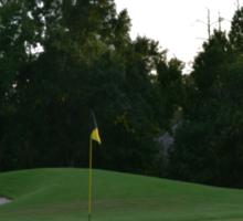 Golf Paradise Sticker