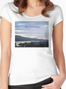 River Paradise Women's Fitted Scoop T-Shirt