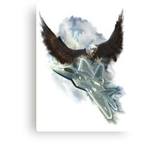 Raptor Sky And Ice Canvas Print