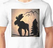 Moose Shadow Unisex T-Shirt
