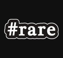 Rare - Hashtag - Black & White by graphix