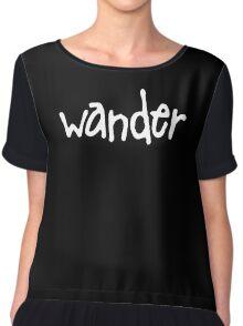 Wander Chiffon Top
