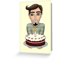 Birthday wishes - Man Greeting Card