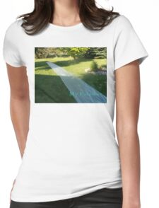 Slide Paradise Womens Fitted T-Shirt