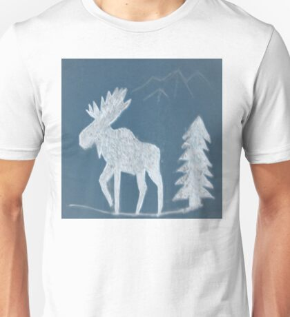 Snow Moose Unisex T-Shirt