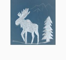 Snow Moose Unisex T-Shirt
