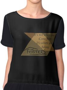 The Fosters Chiffon Top