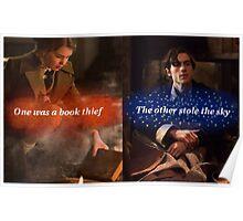 One was a book thief Poster