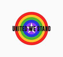 Rainbow Shield - United We Stand! Unisex T-Shirt