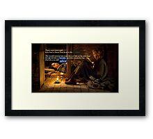 The Book Thief Framed Print