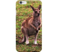 I may look like a big boy but I still fit in Mums pouch iPhone Case/Skin