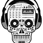 DJ Sugarskull by David Ayala