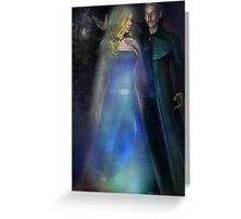 THE ILLUSIONIST Greeting Card