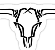 Long Horn Sticker