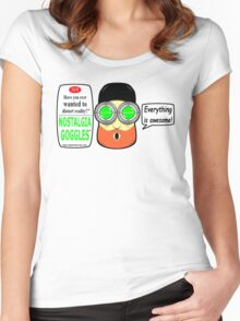 Nostalgia Goggles Women's Fitted Scoop T-Shirt