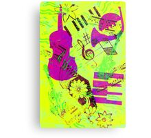 Psychedelic Music  Metal Print