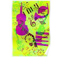 Psychedelic Music  Poster