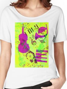 Psychedelic Music  Women's Relaxed Fit T-Shirt