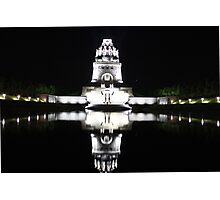 Mirror in the dark / Völkerschlachtdenkmal Photographic Print